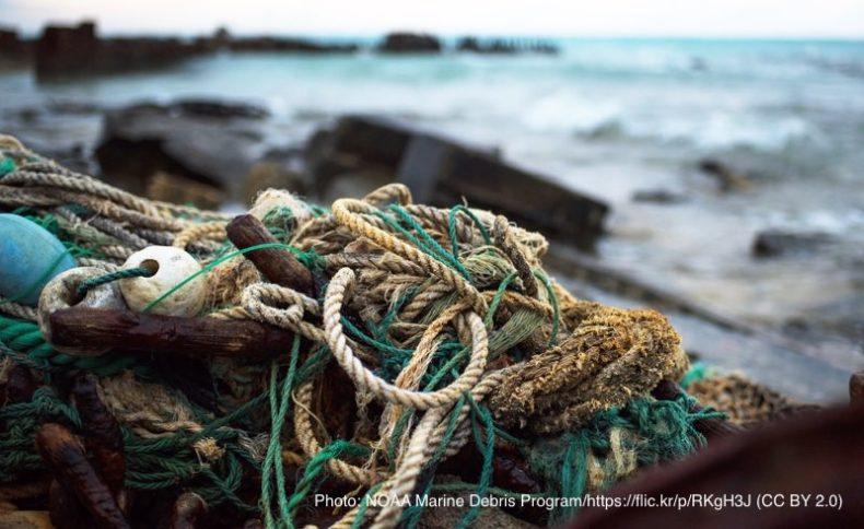 漁具のごみ
