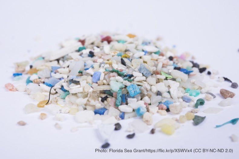 海のマイクロプラスチック