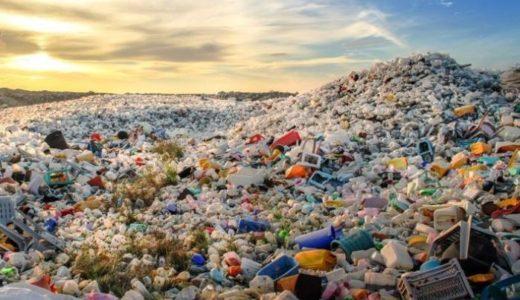 爆発的に増加するプラスチックの生産量