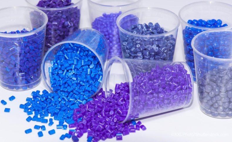 プラスチックの原料となるレジンペレット