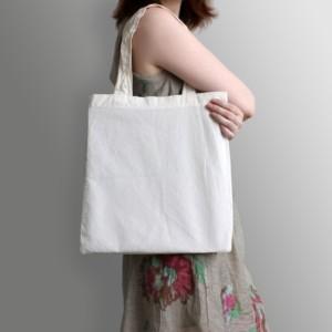 お買い物にはコットンバッグを持ち歩こう!