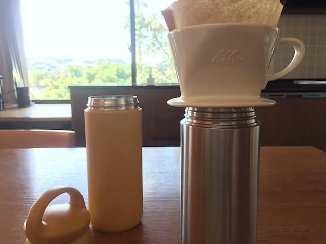 KINTOボトルでコーヒーをいれる