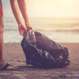 海のゴミ拾い