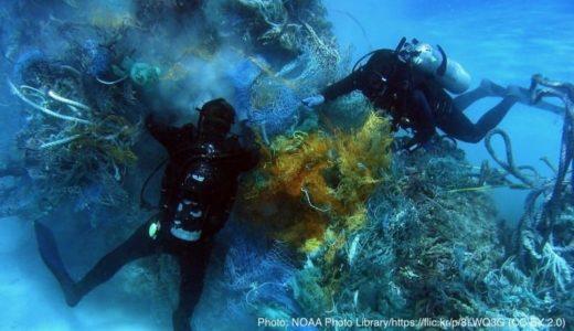 「ゴーストネット」を海から取り除く!専門ダイバーの養成コース開講