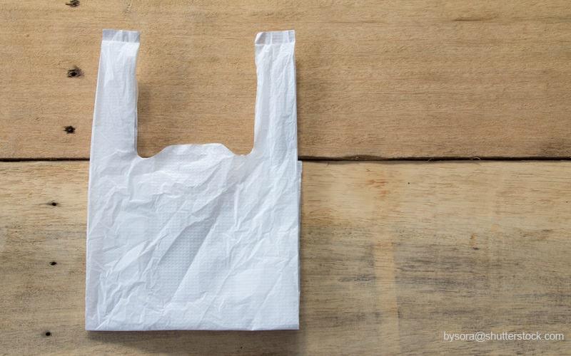 白いレジ袋
