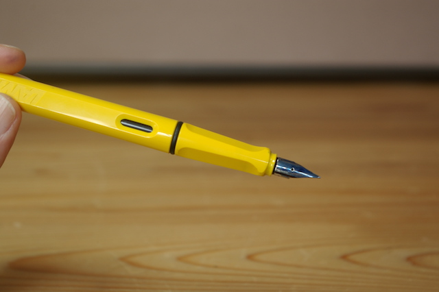 インクを補充したサファリ