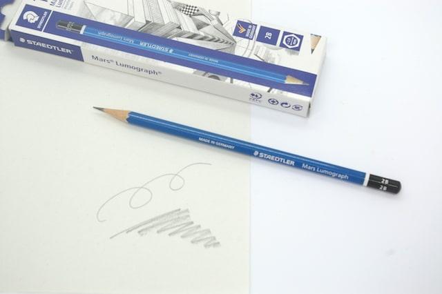 ステッドラーの鉛筆(ルモグラフ)