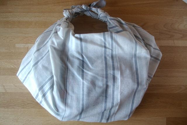 風呂敷で作ったバッグ