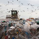 プラスチックと埋め立て地