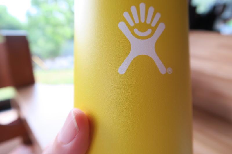 ボトル表面のアップ