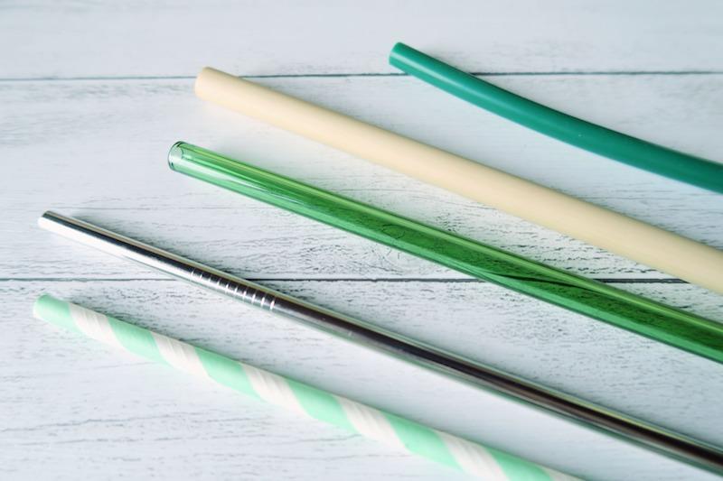 紙・ステンレス・ガラス・竹・シリコンのストロー