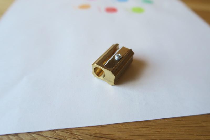 DUXの鉛筆削り
