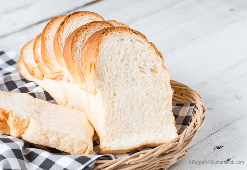 手作りの食パン