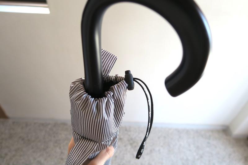 傘カバー上部の様子