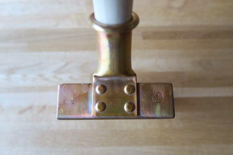 中村銅器製作所の玉子焼き器の取っ手部分
