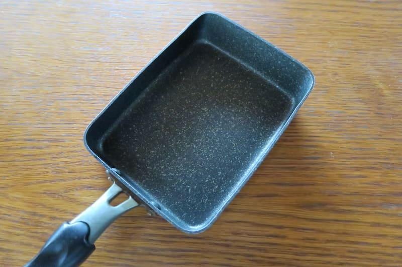 フッ素加工の玉子焼き器