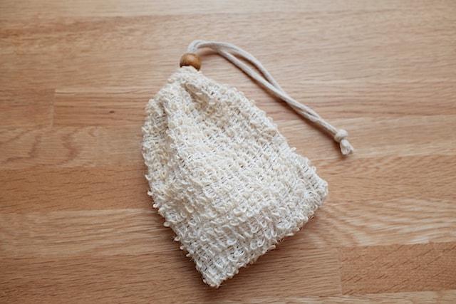 麻の石鹸袋