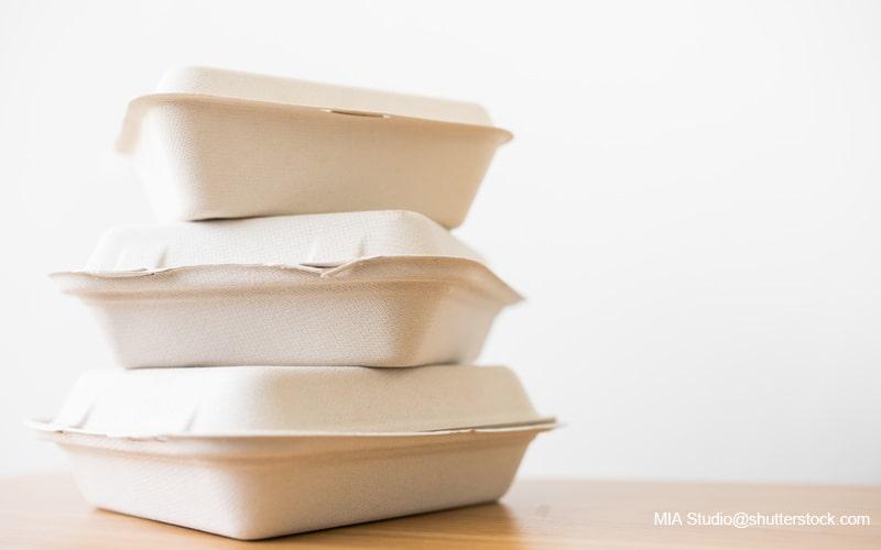 紙製の弁当箱