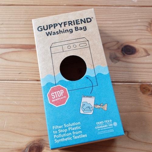 グッピーフレンドウォッシングバッグの外箱