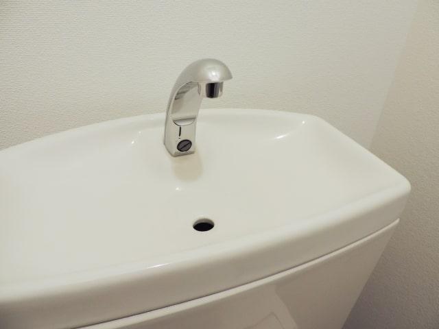 トイレのタンク部分