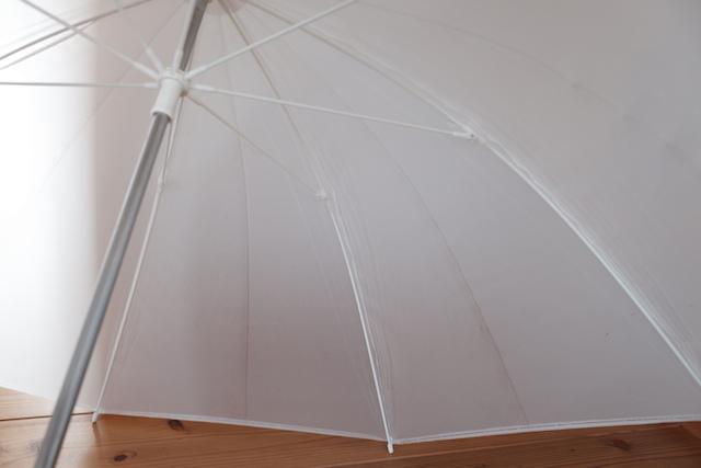 ビニールの傘布