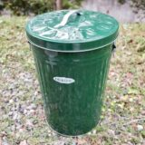 屋外の「ゴミ箱」は金属製に!プラ製は劣化してボロボロに