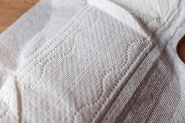 ナプキン表面のアップ